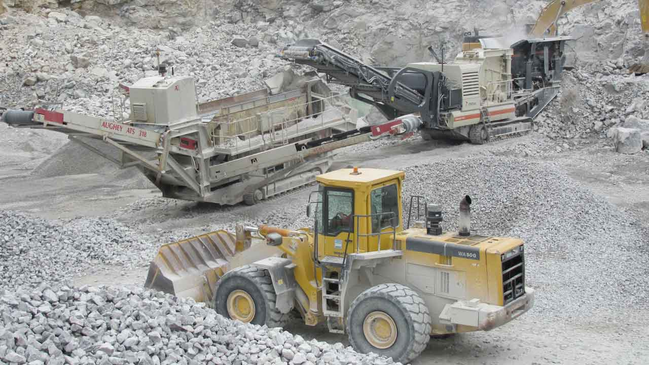 Vincent Cannon quarry machines